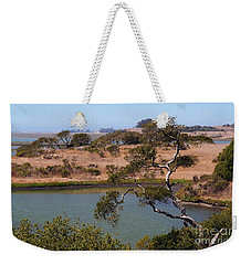 A Cove In Late Summer At Elkhorn Slough Weekender Tote Bag