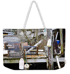 A Crab Fishermans Still Life Weekender Tote Bag