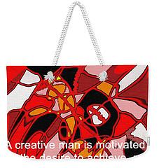 A Creative Man Weekender Tote Bag by Ian  MacDonald