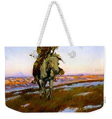 A Cree Indian Weekender Tote Bag
