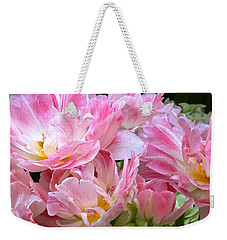 A Crowd Of Tulips Weekender Tote Bag