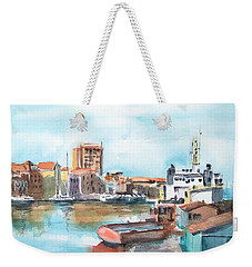 A Curacao Morning Weekender Tote Bag
