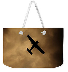 A Dance In The Clouds Weekender Tote Bag by Jessica Shelton