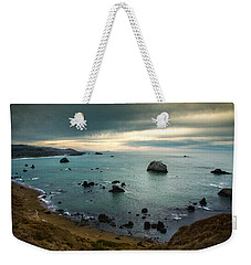 A Dark Day At Sea Weekender Tote Bag