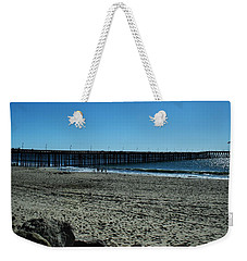 A Day At The Beach Weekender Tote Bag by Michael Gordon