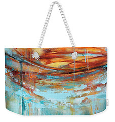 A Day At The Beach Weekender Tote Bag by Tracy Male