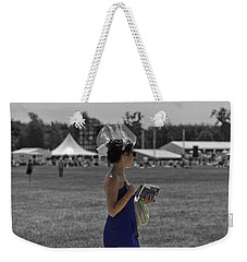 A Day At The Races Weekender Tote Bag by Maj Seda