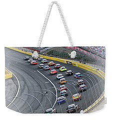 A Day At The Racetrack Weekender Tote Bag by Karol Livote