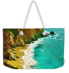 A Day On The Ocean Weekender Tote Bag
