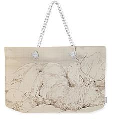 A Dead Stag Weekender Tote Bag