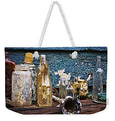 Weekender Tote Bag featuring the photograph Treasures Of A Scuba Diver by Peggy Collins