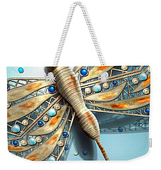 A Dragon Fly On My Wall Weekender Tote Bag