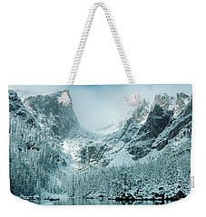 A Dream At Dream Lake Weekender Tote Bag by Eric Glaser