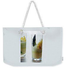 A Drink With Asparagus Weekender Tote Bag
