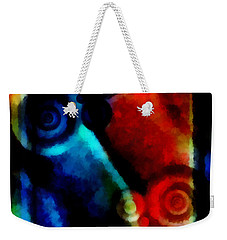 A Drop In The Puddle 1 Weekender Tote Bag by Angelina Vick
