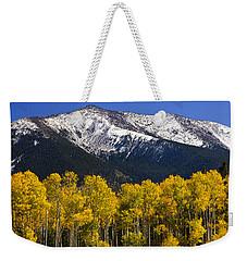 A Dusting Of Snow On The Peaks Weekender Tote Bag