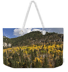 A Falls Day In Spearfish Canyon Of South Dakota Weekender Tote Bag