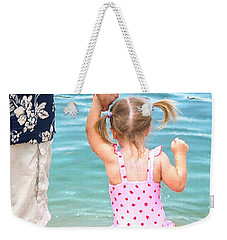 A Father's Love Weekender Tote Bag by Doug Kreuger