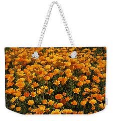 A Field Of Poppies Weekender Tote Bag by Phyllis Denton