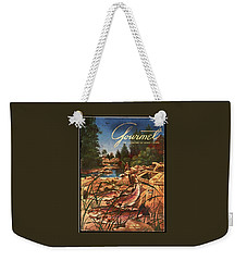 A Fishing Scene Weekender Tote Bag