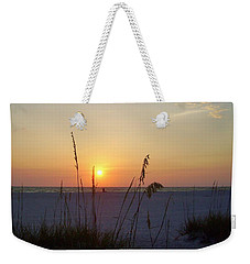 A Florida Sunset Weekender Tote Bag by Cynthia Guinn