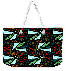 Weekender Tote Bag featuring the digital art A Fly Of Sorts And Berries by Elizabeth McTaggart