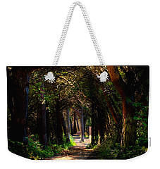 A Forest Path -dungeness Spit - Sequim Washington Weekender Tote Bag