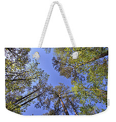 A Forest Sky Weekender Tote Bag