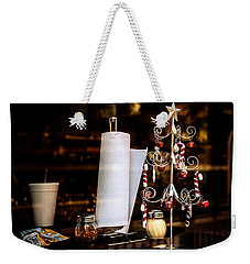A Fritos Kind Of Christmas Weekender Tote Bag by Melinda Ledsome