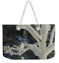 A Frosty Morning Weekender Tote Bag