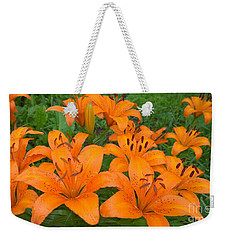 A Garden Full Of Lilies Weekender Tote Bag