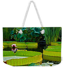A Garden In Gentle Waters Weekender Tote Bag by Byron Varvarigos
