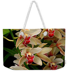 Weekender Tote Bag featuring the photograph A Gathering by Rodney Lee Williams
