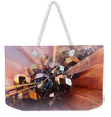 Weekender Tote Bag featuring the photograph A Girls Best Friend  by Clare Bevan