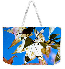 Weekender Tote Bag featuring the photograph Autumn  In New Orleans Louisiana by Michael Hoard