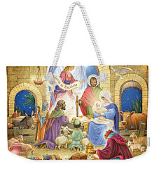 A Glorious Nativity Weekender Tote Bag