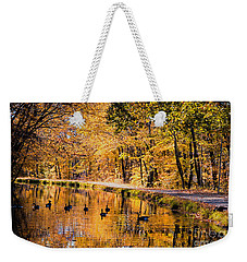 A Golden Afternoon Weekender Tote Bag by Eleanor Abramson