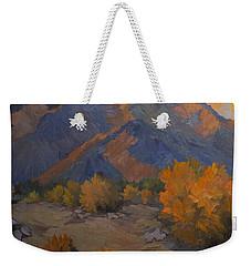 A Golden Sky Weekender Tote Bag