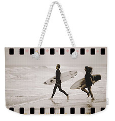 Weekender Tote Bag featuring the photograph A Good Day To Surf by Alice Gipson