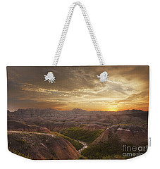 A Good Sunrise In The Badlands Weekender Tote Bag