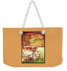 A Gourmet Cover Of Apples Weekender Tote Bag