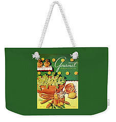 A Gourmet Cover Of Dandelion Salad Weekender Tote Bag by Henry Stahlhut