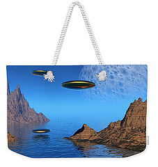 A Great Day For Flying Weekender Tote Bag by Lyle Hatch