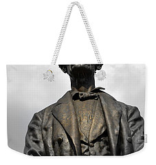 A Great Man Weekender Tote Bag by Kathy Barney