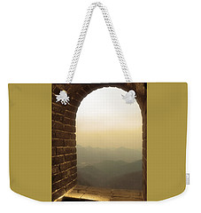 Weekender Tote Bag featuring the photograph A Great View Of China by Nicola Nobile