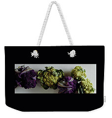 A Group Of Cauliflower Heads Weekender Tote Bag