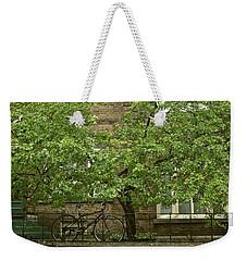 A Guardian In The Rain Weekender Tote Bag