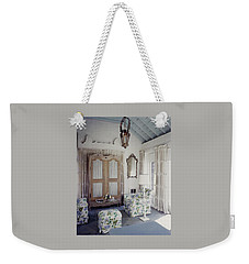 A Guest Room At Hickory Hill Weekender Tote Bag