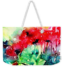 A Haze Of Poppies Weekender Tote Bag