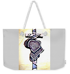 A Heart For Africa Cross Weekender Tote Bag
